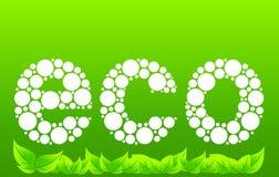 ekologia znak Zdjęcie Stock