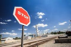 Ekologiczna produkcja metalurgiczna zdjęcie stock
