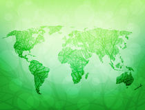 Ekologiczny świat Zdjęcia Royalty Free