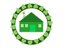 ekologiczny budynki mieszkalne Obraz Stock