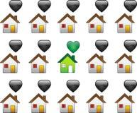 ekologiczny dom mieści stały bywalec Obraz Royalty Free