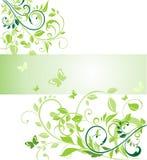 Ekologiczny sztandar Obrazy Royalty Free