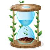 ekologiczny zegar Fotografia Royalty Free