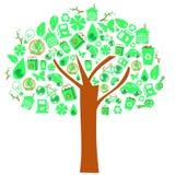 ekologii drzewo Fotografia Royalty Free