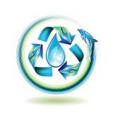 ekologii ikona Zdjęcia Royalty Free