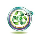ekologii ikona Obrazy Stock