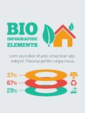 Ekologii Infographic element Fotografia Royalty Free