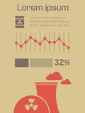 Ekologii Infographic element Obrazy Royalty Free