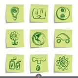 ekologii poczta serie ilustracji