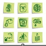 ekologii poczta serie royalty ilustracja