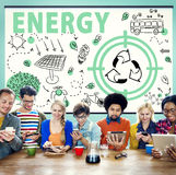 Ekologii Życzliwego Energetycznego środowiska Podtrzymywalny pojęcie Zdjęcia Stock