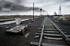 Ekologii zanieczyszczenie fotografia stock