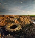 Ekologiproblem Royaltyfria Bilder
