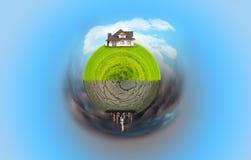 ekologisk katastrof Fotografering för Bildbyråer