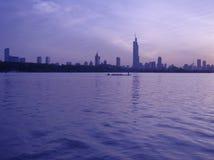 ekologisk stad royaltyfri bild