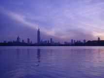 ekologisk stad royaltyfria bilder