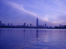 ekologisk stad royaltyfria foton