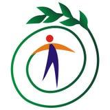 ekologisk symbol Fotografering för Bildbyråer