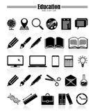 ekologiska miljöhögt symboler för detaljerad eco Arkivfoto