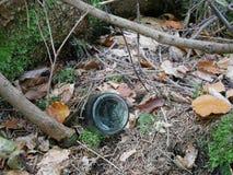 Ekologiska problem och förorening av naturen rackar ner på förbi Royaltyfri Fotografi