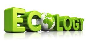 Ekologiskt begrepp royaltyfri illustrationer