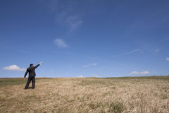 ekologiskt lyckat för affär Royaltyfri Fotografi