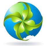 Ekologiskt symbol för vektor Royaltyfri Foto