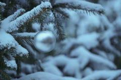 ekologiskt trä för julgarneringar Royaltyfri Foto
