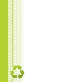 Ekologiskt trötta spårar broschyrdesign stock illustrationer