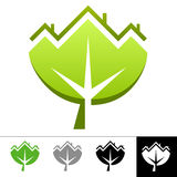 ekologisymbol stock illustrationer