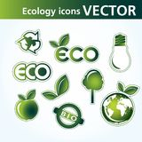 ekologisymboler Royaltyfri Fotografi