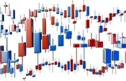 Ekonomiczna wskaźnik krzywa Obraz Royalty Free