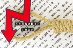 Ekonomiczni powieszenia zdjęcia royalty free