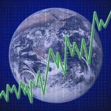 ekonomiczny globalny wyzdrowienie Obrazy Royalty Free
