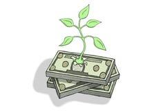 ekonomiczny przyrost royalty ilustracja