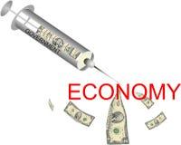 ekonomiczny zastrzyk Obrazy Royalty Free