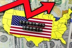 Ekonomin växer vektor illustrationer