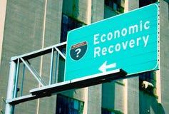 ekonomisk återhämtning Arkivbilder