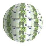 ekonomisk euvärld Arkivbilder