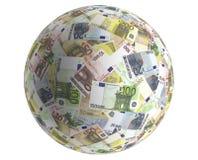 ekonomisk euvärld Arkivfoto