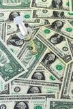 ekonomisk hjälp Arkivbild