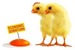 ekonomisk nedgång Fotografering för Bildbyråer