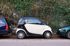 ekonomisk parkering arkivbilder