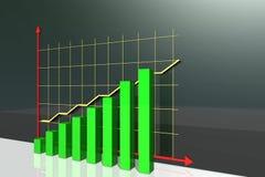 Ekonomisk tillväxt Arkivbilder