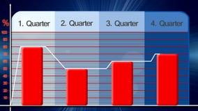 Ekonomiskt diagram för abstrakt bakgrund vektor illustrationer