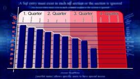 Ekonomiskt diagram för abstrakt bakgrund stock illustrationer