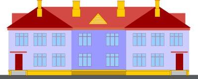 Ekonomiskt dubbelsidigt hus. Royaltyfri Foto