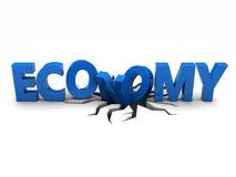 Ekonomiskt problem stock illustrationer