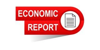 Ekonomiskt rapportbaner Royaltyfri Bild