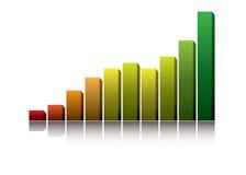 ekonomistigning stock illustrationer